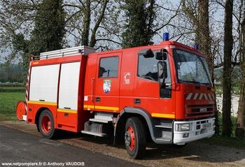 Fourgon-pompe tonne, Sapeurs-pompiers, Meuse (55)