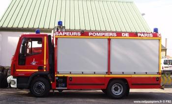 Camion de désincarcération, Sapeurs-pompiers de Paris,  ()