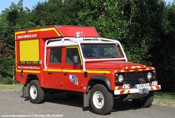 Véhicule pour interventions en milieu périlleux, Sapeurs-pompiers, Allier