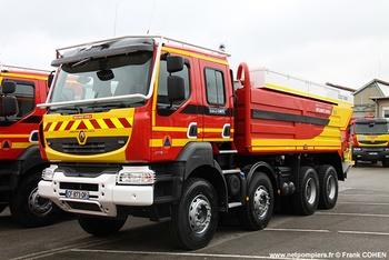 Camion-citerne de grande capacité, Formations militaires de la Sécurité civile, Haute-Corse (2B)