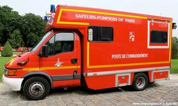 Véhicule poste de commandement, Sapeurs-pompiers de Paris,  ()