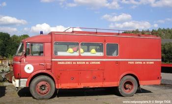 Véhicule de sauvetage déblaiement, Sapeurs-pompiers, Moselle (57)