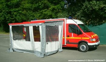 Véhicule de soutien sanitaire, Sapeurs-pompiers, Vendée (85)