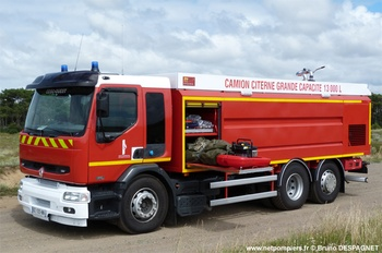 <h2>Camion-citerne de grande capacité - Les Sables-d'Olonne - Vendée (85)</h2>