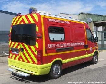 Véhicule de secours nautique, Sapeurs-pompiers, Var (83)