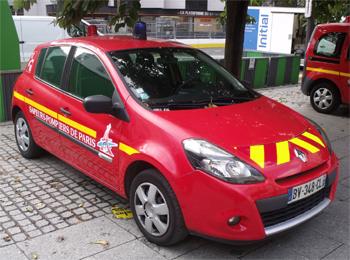 Véhicule de liaison, Sapeurs-pompiers de Paris, Paris (75)
