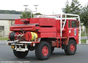 Camion-citerne pour feux de forêts, Sapeurs-pompiers, Hautes-Pyrénées (65)