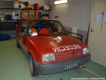 Véhicule radio médicalisé, Sapeurs-pompiers, Alpes-de-Haute-Provence (04)