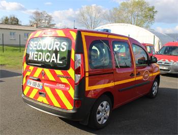 Véhicule léger infirmier, Sapeurs-pompiers, Nièvre (58)