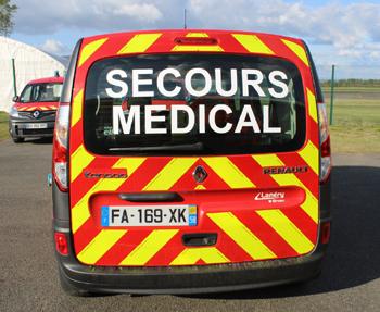 Véhicule léger infirmier, Sapeurs-pompiers, Nièvre