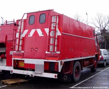 Dévidoir automobile, Sapeurs-pompiers, Meurthe-et-Moselle (54)