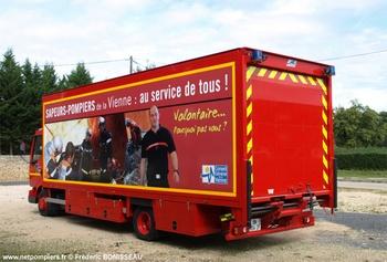 Véhicule de protection, Sapeurs-pompiers, Vienne (86)