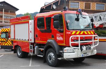 Camion-citerne rural, Sapeurs-pompiers, Haute-Savoie (74)