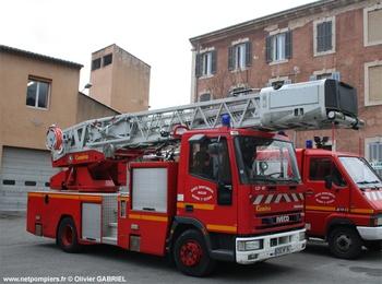 Echelle pivotante, Sapeurs-pompiers, Vaucluse (84)