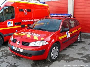 Véhicule radio médicalisé, Sapeurs-pompiers, Aude (11)
