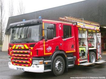 <h2>Fourgon-pompe tonne secours routier - Longué-Jumelles - Maine-et-Loire (49)</h2>