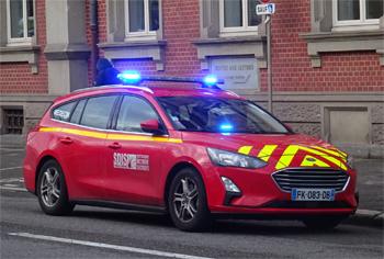 Véhicule  radio médicalisé, Sapeurs-pompiers, Haut-Rhin (68)