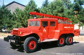 <h2>Camion-citerne pour feux de forêts - Saint-Août - Indre (36)</h2>