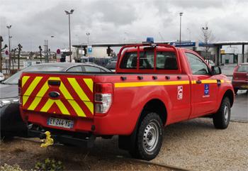 Véhicule de liaison, Sapeurs-pompiers, Loiret (45)