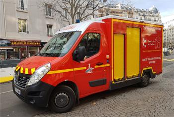 Véhicule de secours et d'assistance aux victimes, Sapeurs-pompiers de Paris,  ()