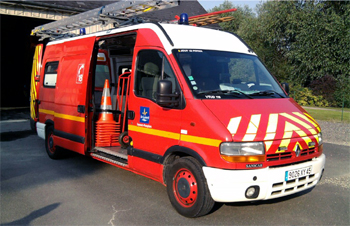 Véhicule pour interventions diverses, Sapeurs-pompiers, Loiret (45)