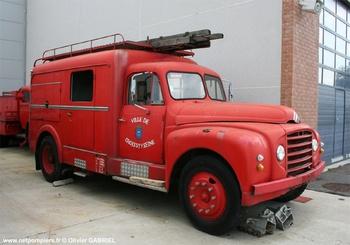 Fourgon d'incendie normalisé, Sapeurs-pompiers, Yvelines