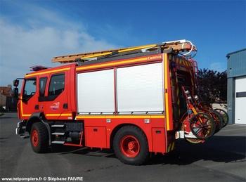 Fourgon-pompe tonne, Sapeurs-pompiers, Loire-Atlantique