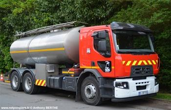 Camion-citerne de grande capacité, Sapeurs-pompiers, Manche