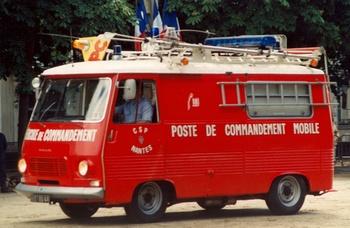 Véhicule poste de commandement, Sapeurs-pompiers, Loire-Atlantique (44)