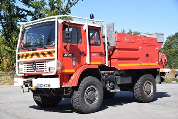 <h2>Camion-citerne pour feux de forêts - La Gacilly - Morbihan (56)</h2>
