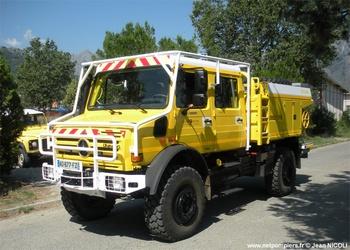 Camion-citerne pour feux de forêts, Défense des forêts contre les incendies, Corse-du-Sud (2A)