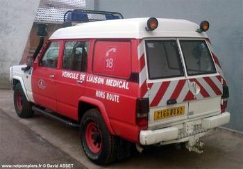 <h2>Véhicule radio médicalisé - Arras - Pas-de-Calais (62)</h2>