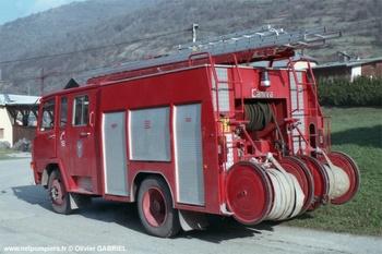 <h2>Fourgon-pompe tonne - Bozel - Savoie (73)</h2>