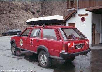 Véhicule de secours et d'assistance aux victimes, Sapeurs-pompiers, Savoie (73)