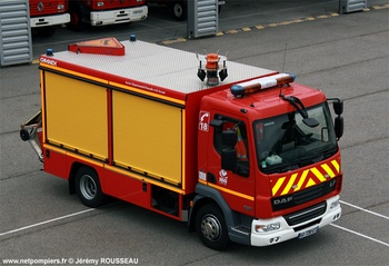 Véhicule de secours routier, Sapeurs-pompiers, Orne (61)