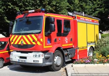 Fourgon-pompe tonne secours routier, Sapeurs-pompiers, Loiret (45)