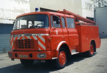 <h2>Fourgon-pompe tonne - Lyon - Rhône (69)</h2>