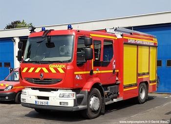 Fourgon-pompe tonne secours routier, Sapeurs-pompiers, Pas-de-Calais (62)