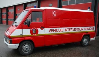 Véhicule de dépollution, Sapeurs-pompiers, Allier