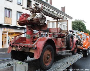 Camionnette d'incendie, Sapeurs-pompiers, Essonne (91)