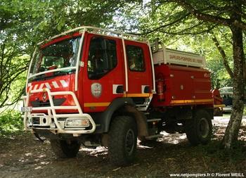 <h2>Camion-citerne pour feux de forêts - Beaurepaire - Isère (38)</h2>