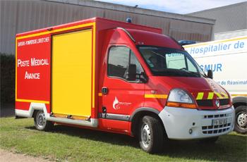 Véhicule poste médical avancé, Sapeurs-pompiers, Loir-et-Cher (41)