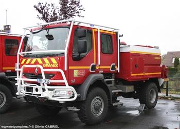 Camion-citerne pour feux de forêts, Sapeurs-pompiers, Oise (60)