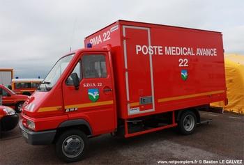 <h2>Véhicule poste médical avancé - Ploeuc-sur-Lié - Côtes-d'Armor (22)</h2>