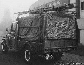 Véhicule pour interventions diverses, Sapeurs-pompiers, Yvelines