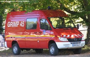 Véhicule pour interventions en milieu périlleux, Sapeurs-pompiers, Loiret (45)