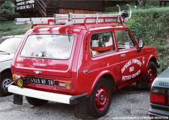 Véhicule pour interventions diverses, Sapeurs-pompiers, Isère (38)