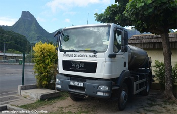 Camion-citerne de grande capacité, Sapeurs-pompiers, Polynésie-Française (987)