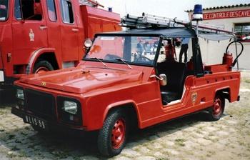 Véhicule de première intervention, Sapeurs-pompiers de Paris,  ()