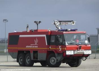<h2>Véhicule pour interventions aéroportuaires - Le Bourget - Seine-Saint-Denis (93)</h2>